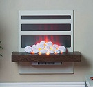 Wall Hanging Electric Fireplace